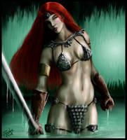 Red Sonja by Destinyfall