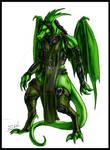 Emerald For Obsydian Dragon