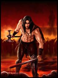 Mael's bloody Dawn by Destinyfall