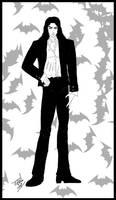 Manga Mael in suit