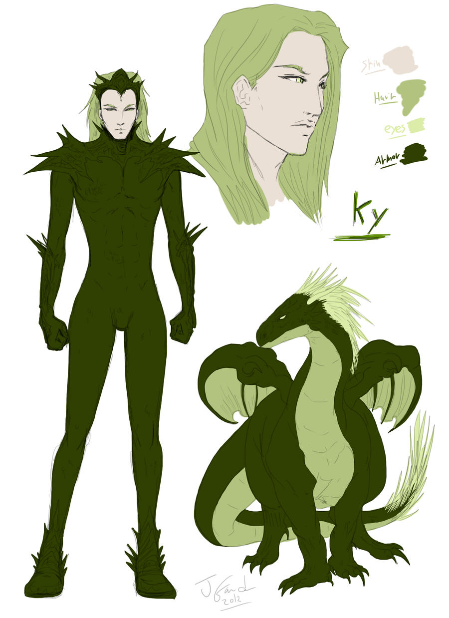 Ky-Character sheet by Destinyfall