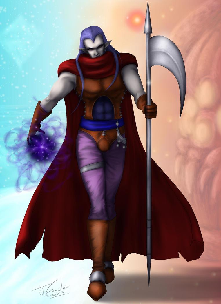 Magus-Chrono Trigger by Destinyfall