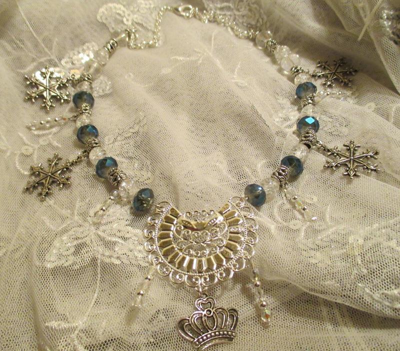 Cooling Necklaces That You Freeze : Elsa frozen necklace by destinyfall on deviantart