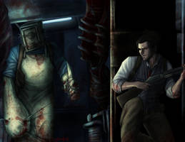 The Evil Within- Game-Art-HQ Art Contest 2014 by Destinyfall