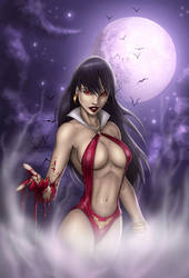 Vampirella (color work)