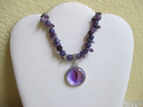 Elemental Dark Dragon Eye (necklace)