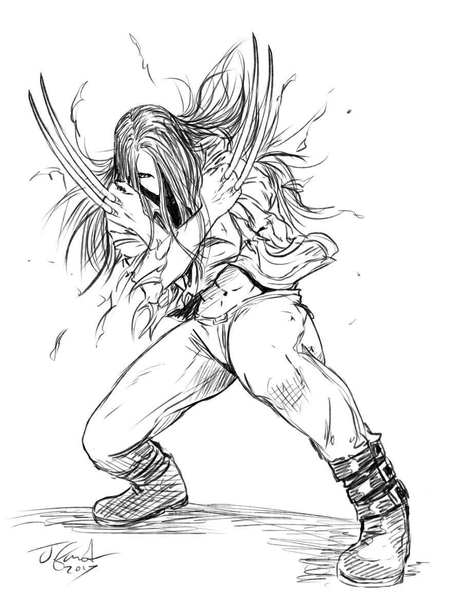 X-23 for National Women's day by Destinyfall