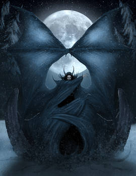 Winter's Dark Monarch