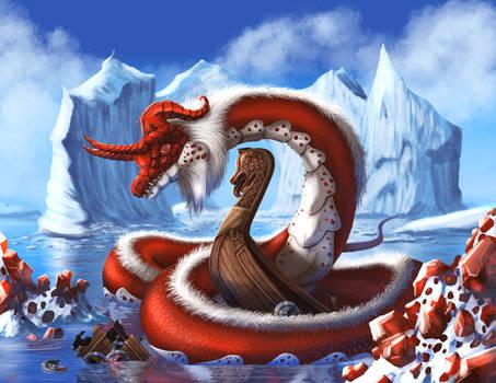 January Garnet Dragon