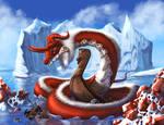 January Garnet Dragon by Destinyfall