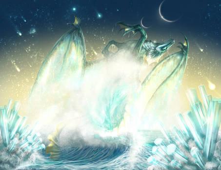 March Aquamarine Dragon