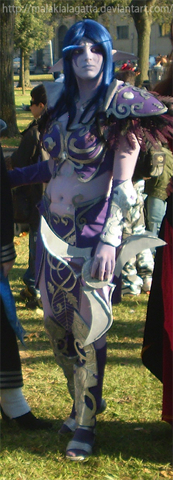 Night Elf Cosplay - Lucca09 by MalakiaLaGatta