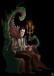 .Lovecraft 123rd. by MalakiaLaGatta
