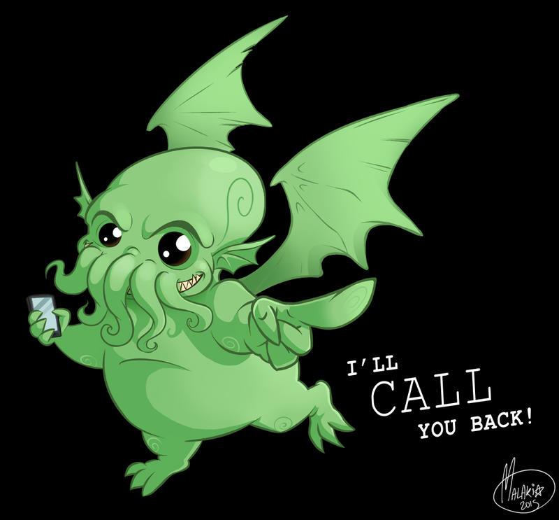 .I'll Call You Back!. by MalakiaLaGatta