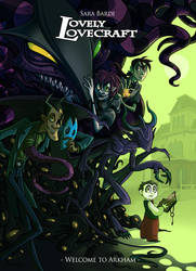 .Lovely Lovecraft Vol 1 Cover. by MalakiaLaGatta
