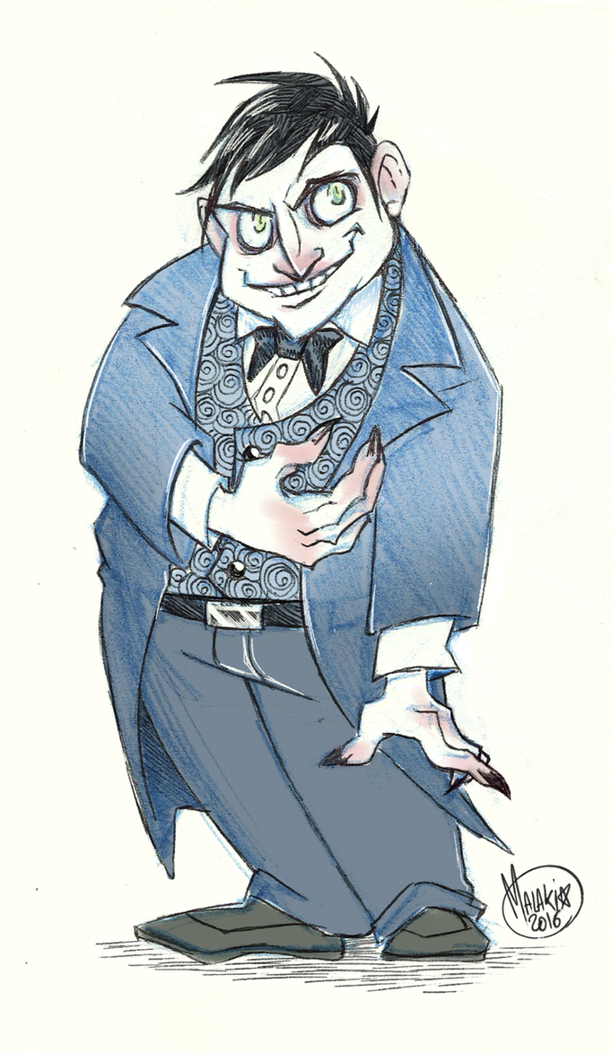 .Oswald Cobblepot V2 - Gotham. by MalakiaLaGatta