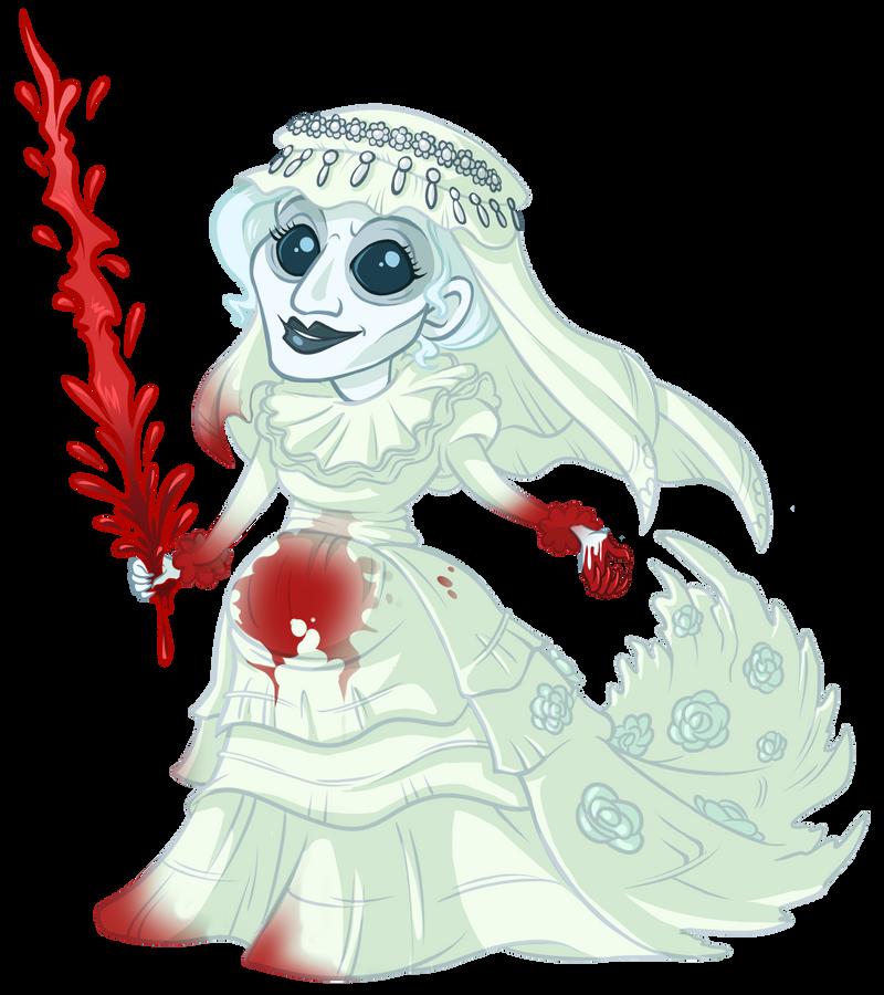 .Bloodborne Chibis: Queen Yharnam. by MalakiaLaGatta