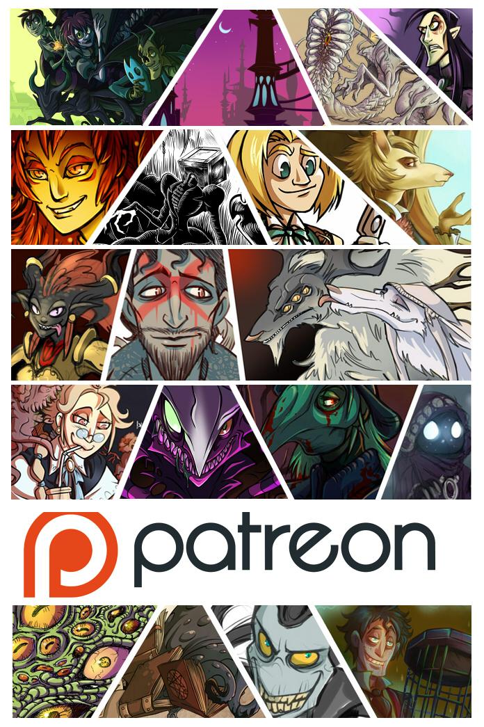 .Patreon Account! :D. by MalakiaLaGatta