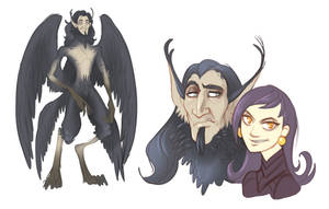 .Character Design: Ravenous Forest. by MalakiaLaGatta