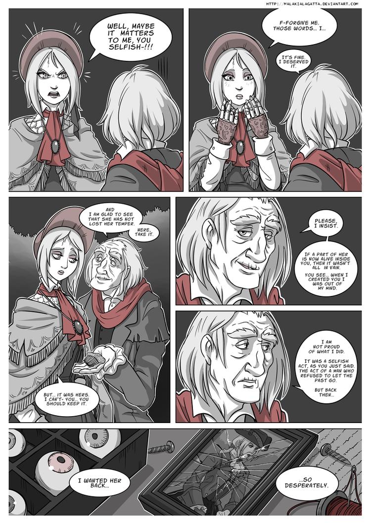 .Unfaltering Friend. Bloodborne 5-?. by MalakiaLaGatta on ...