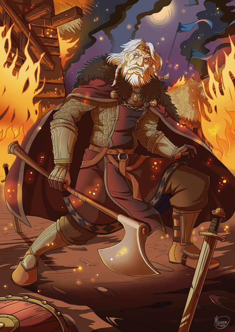 .Commission King Ulfgrim the Scourge. by MalakiaLaGatta