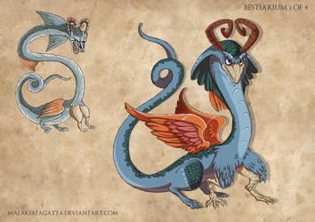 .Bestiarium Creature Design 1. by MalakiaLaGatta