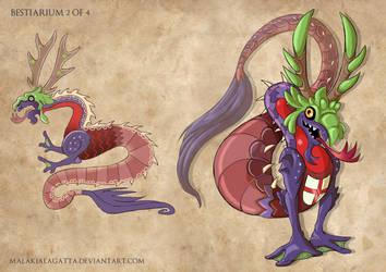 .Bestiarium Creature Design 2. by MalakiaLaGatta