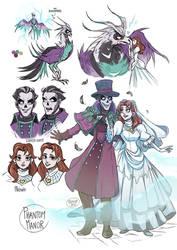 .Glitter Phantom and Melanie - Phantom Manor.