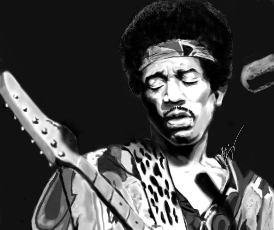 Jimi Hendrix by Jisunsu