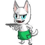 Calicoco mascot by Miss-Game-n-Start