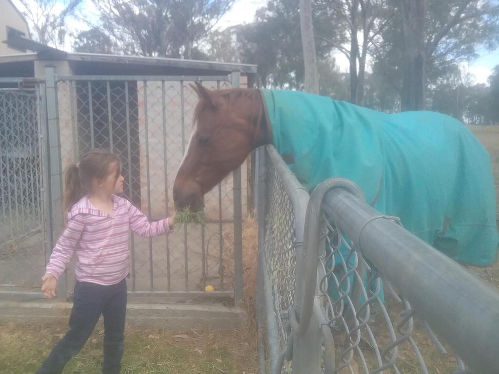 Sis feeding Zoe by peytonisfree