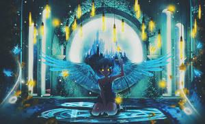 Guardian Angel by Falla-Y