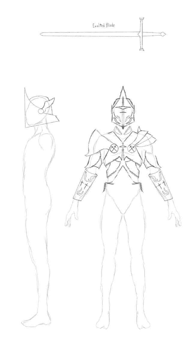 Excalibur Camelot Skin (WIP) Warframe Deluxe