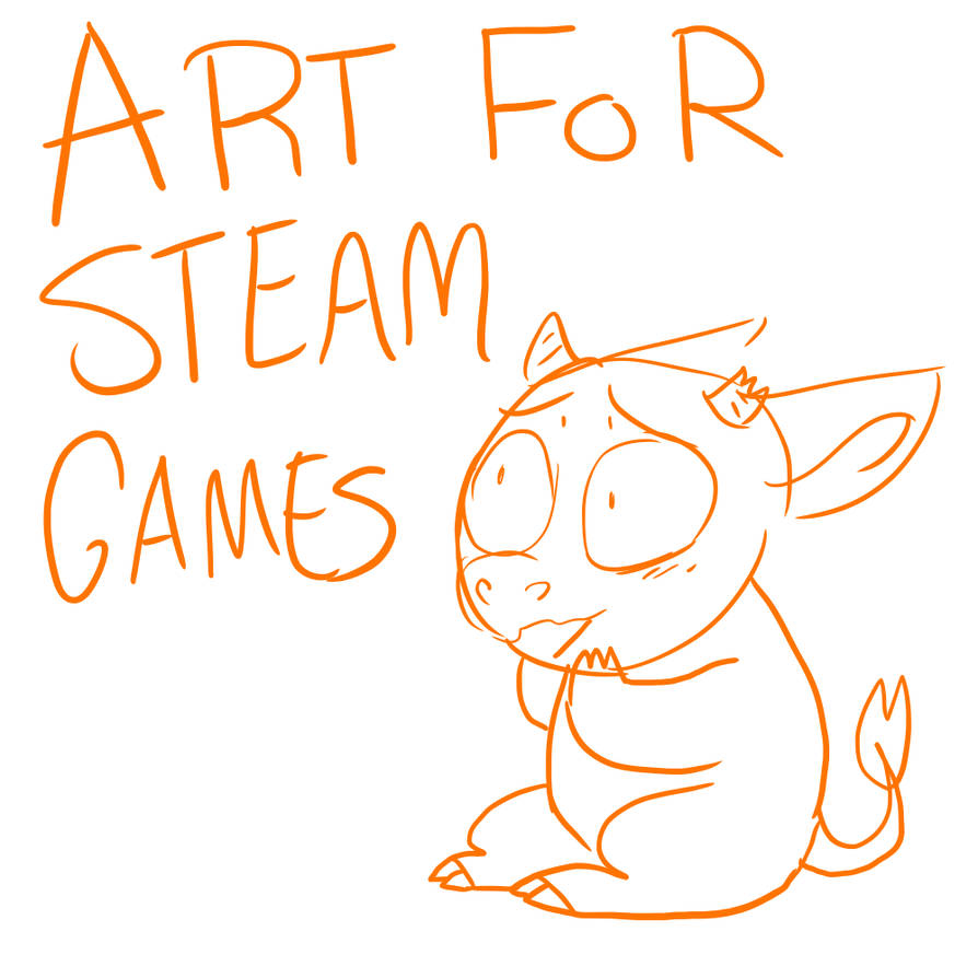 Art for Steam Games!! (Commissions open!!!) by ManitkaThunderhooves