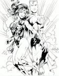 SuperMan + WonderWoman