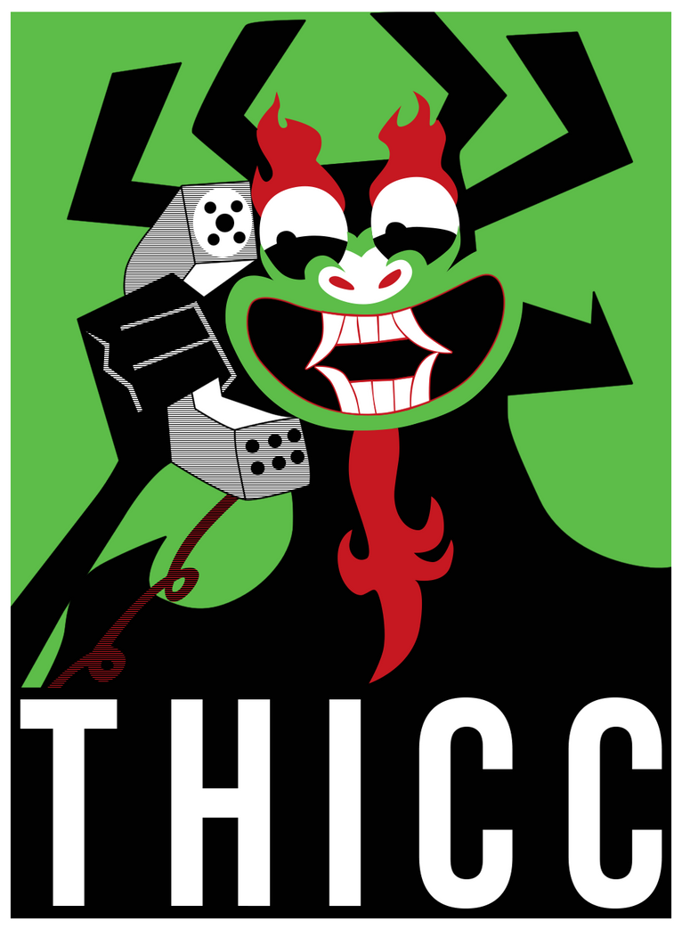 Poster - EXTRA THICC by SemonX on DeviantArt