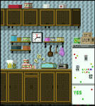 Pixel Art - Kitchen
