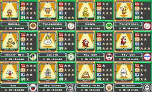 Mario Card Series 1-2 by koopaul