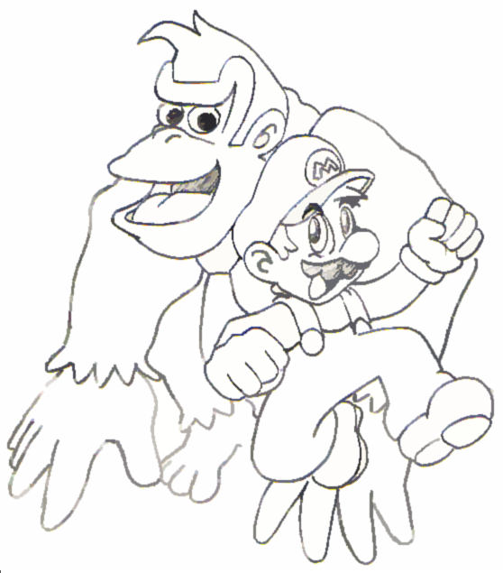 d k coloring pages - photo #14