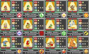 Mario Card Series 2-1 by koopaul