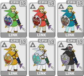 Character Select: Link by koopaul