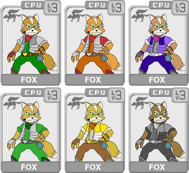 Character Select: Fox by koopaul