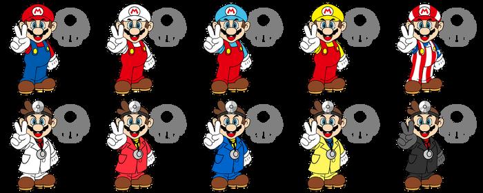 Smash Character: Mario / Dr. Mario