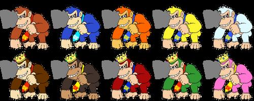 Smash Character: Donkey Kong by koopaul