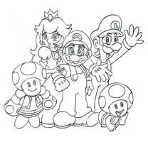 Team Mario and Company by koopaul