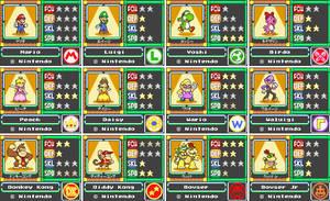 Mario Card Series 1-1 by koopaul