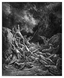 Fall of the Rebel Angels by Funerium