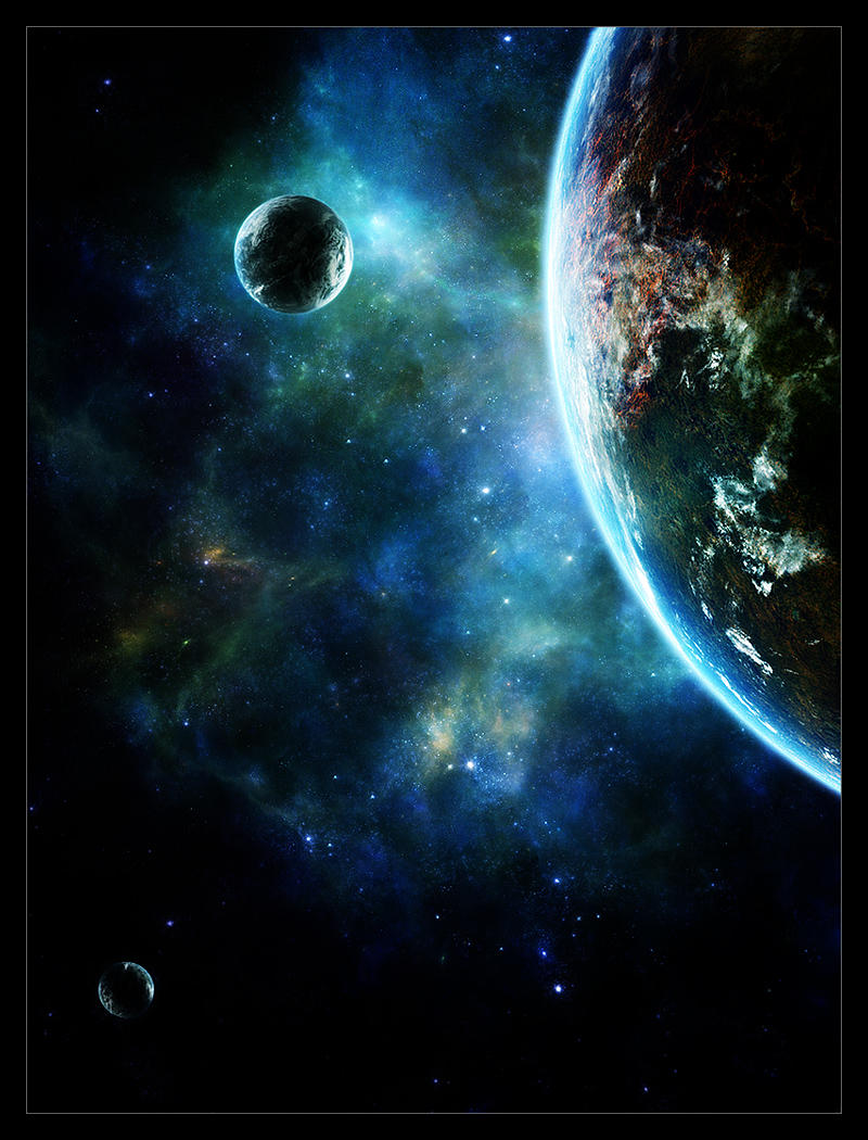 Moment in space xxxv by funerium on deviantart for Outer space stage design
