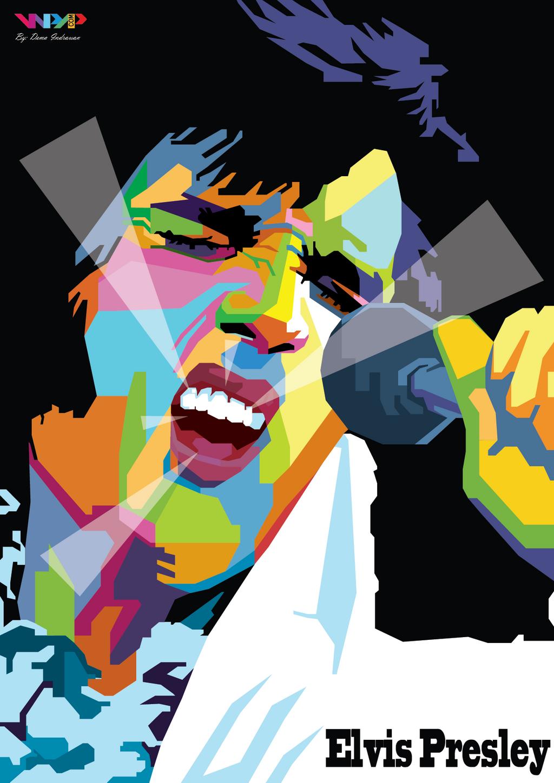 Elvis Art Elvis presley 2 by