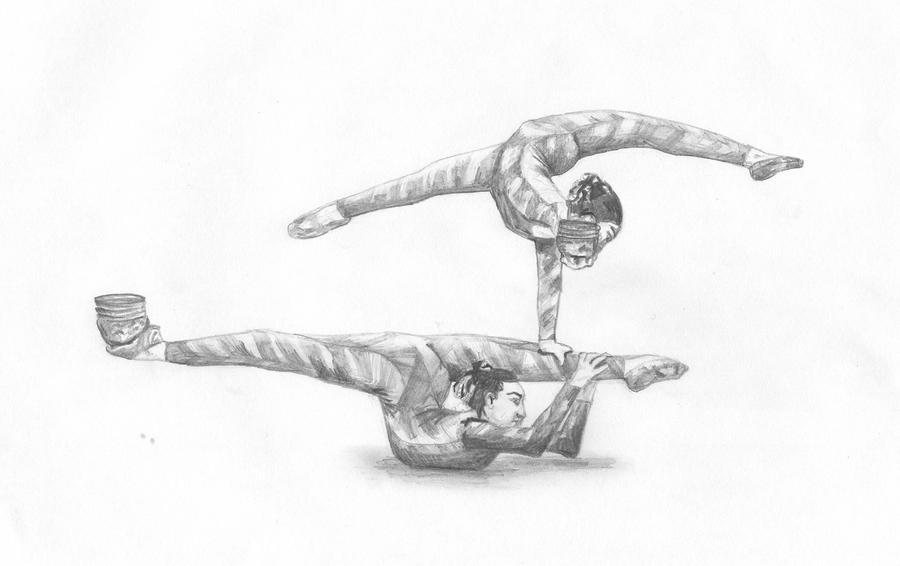 contortion cirque du soleil by LiskeBunnik